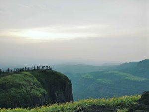 A beautiful view of Lonavala Hill-station in Maharashtra