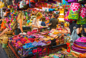 market colourful